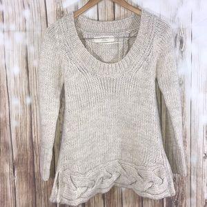 Zara   Chunky Knitted Sweater Size Small
